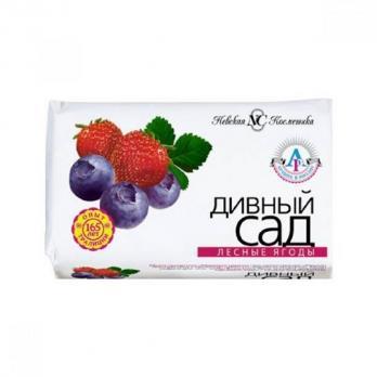 Невская косметика Мыло Дивный сад Лесные ягоды 90г
